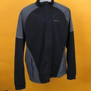 New Craft Men storm Jacket black/gray sz XXL
